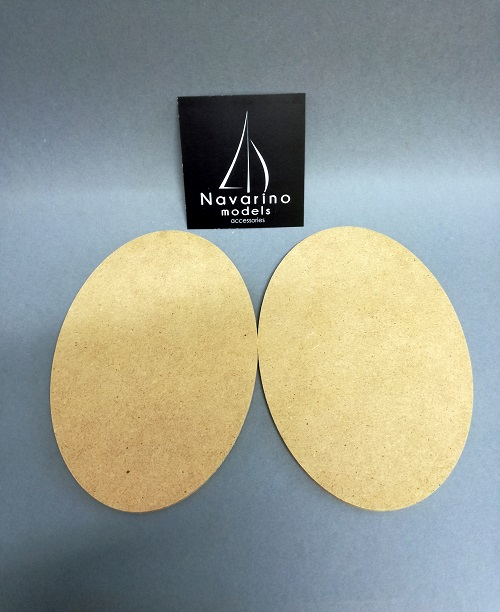 Warhammer AoS Bases  Oval 170x105mm