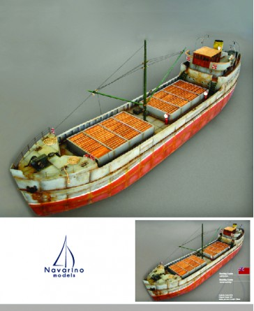 Cargo ship 1938 Brockley Combe , Scale 1/72 - Lenght 730mm